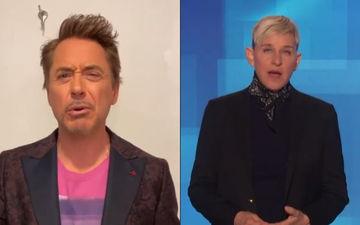 Robert Downey Jr To Take Over As A Host Of The Ellen Show; Ellen Degeneres Has A Befitting Reply - Video