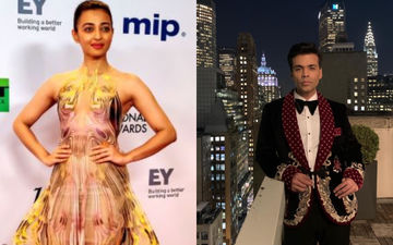 International Emmy Awards 2019: Radhika Apte's Illusion Dress, Karan Johar's Jacket; Team Lust Stories Rocks It