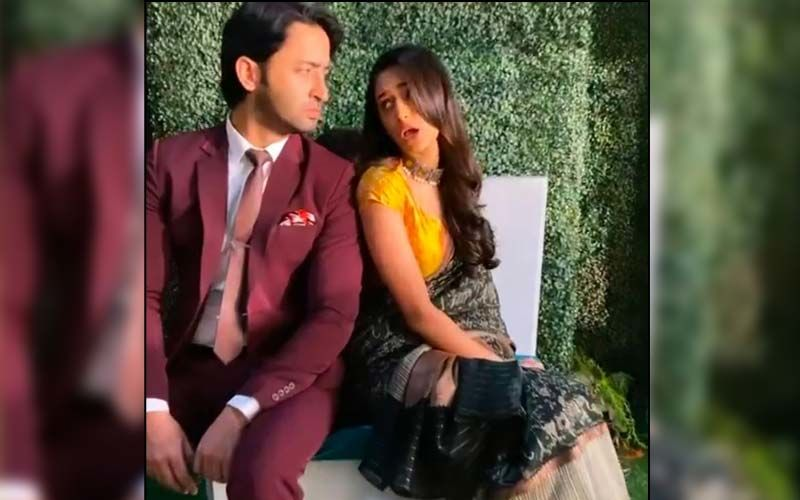 Erica Fernandes And Shaheer Sheikh Recreate 'Bachpan Ka Pyaar' Song With A Twist And It Is Too Cute For Words-WATCH