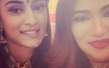 Prerna Aka Erica Fernandes From Kasautii Zindagi Kay 2 And Amrita Aka Ridhima Pandit From Haiwan Are Fighting Over One Man – Watch Video