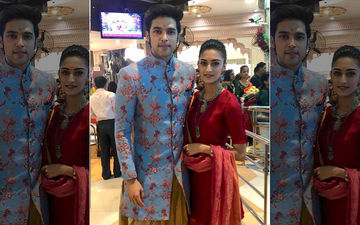 Erica Fernandes-Parth Samthaan Seek Blessings At Siddhivinayak Temple Before Their Wedding In Kasautii Zindagii Kay 2