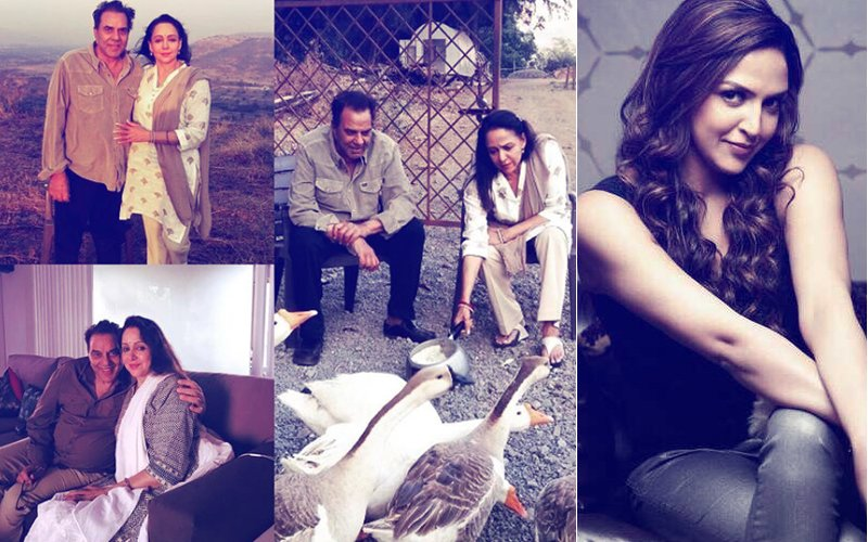 Esha Deol Shares A Heartfelt Message & Rare Pics Of Hema Malini & Dharmendra On Their Wedding Anniversary
