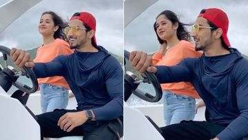 TikTok Stars Jannat Zubair- Faisal Shaikh Romance With Their Eyes Amid Cosy Sea Breeze In Mauritius – TB Video