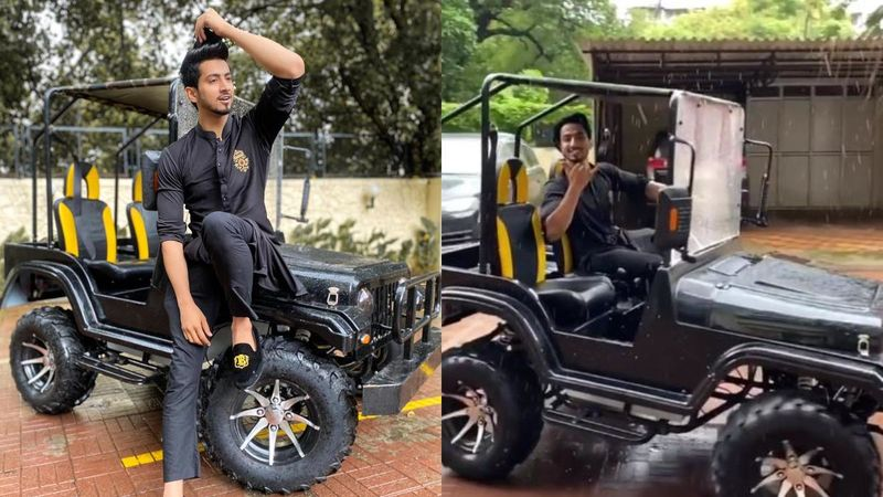 Post TikTok Ban In India, Faisal Shaikh Flaunts His Brand New Luxurious Jeep; Wants To 'Work In Silence And Let His Car Make The Noise' - VIDEO