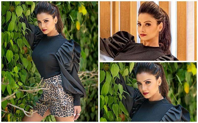 FASHION CULPRIT OF THE DAY: Adaa Khan, Those Bulging Sleeves With A Cheetah Print Skirt Is A Big No-No!