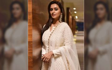 Actress Shivani Surve Defines Royalty In This Off-White Coloured Saree, Shares Pic On Instagram