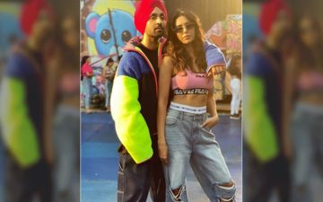 Diljit Dosanjh, Sonam Bajwa's BTS Picture From The Set Of Their Upcoming Song Will Raise Your Excitement