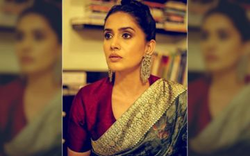 Maharashtracha Favourite Kon 2019: Sonali Kulkarni Makes A Graceful Style Statement In An Ethnic Saree