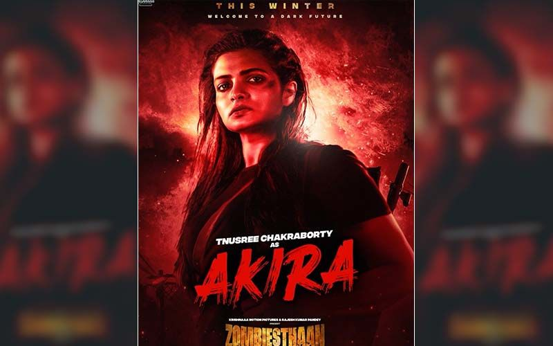 Zombiesthaan New Poster Introduces Tanusree Chakraborty As Akira