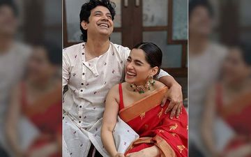 Catch Umesh Kamat And Priya Bapat's Traditional Couple Look In This Classy Ethnic Collection