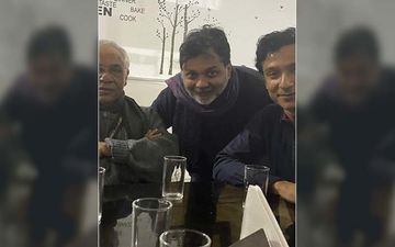 Srijit Mukherji Shares Selfie With Professor Shonku And Feluda On Twitter