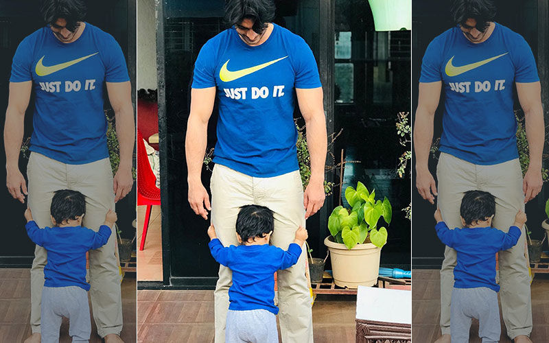 Gashmeer Mahajani's Quarantine Moments With Son Will Make You Go 'Aww'