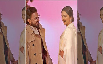 Ranveer Singh Shares A Candid Picture Of Wifey Deepika Padukone; Says She's 'High On His Birthday Cake'
