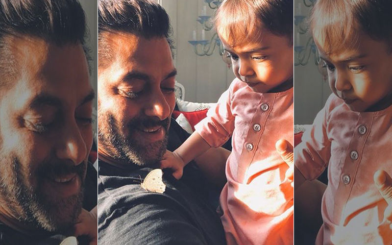 Salman Khan's Bean Bag Game With Nephew Ahil Will Brighten Up Your Day!