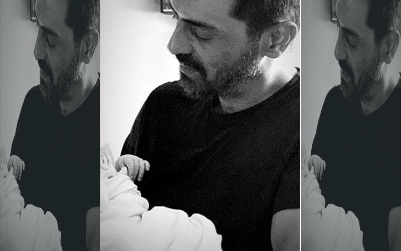 Arjun Rampal's Girlfriend Gabriella Shares FIRST Glimpse Of Their Newborn Baby