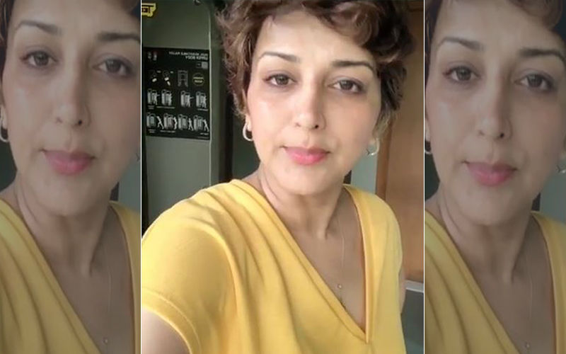 Sonali Bendre Says She Got Up Feeling Low But Switches Her Sunshine On, Literally: Watch Video