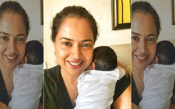 Sameera Reddy Shares A New Pic With Her Li'l Angel; Also Writes About How Stressful Breastfeeding Can Be