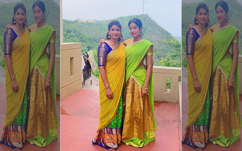 Janhvi Kapoor Visits A Temple In Tirumala To Celebrate Mom Sridevi's 56th Birthday