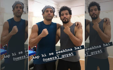 Farhan Akhtar Gives Us Major Bro-Training Goals With Boxer Neeraj Goyat In This Prep Video For Toofan