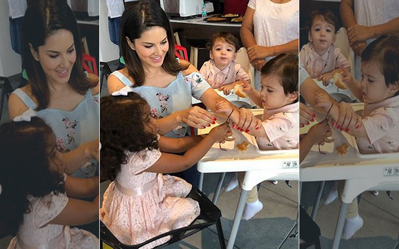 Sunny Leone Shares Pictures Of Her Kids Nisha, Noah And Asher As They Celebrated Rakshabandhan