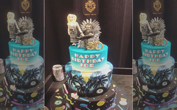 Joe Jonas' Birthday Cake Has A Game Of Thrones Connect And It Has Sophie Turner Placed On It