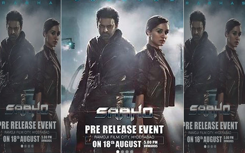 Prabhas And Shraddha Kapoor Starrer Saaho's Action Begins In 10 Days; Thrilled Enough?