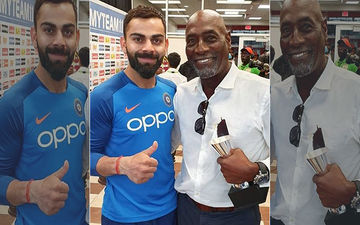 Virat Kohli Shares A Picture With Legendary Cricketer Vivian Richards; Ranveer Singh Leaves An Appreciative Comment