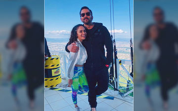 Amruta Khanvilkar Is On Top Of The World With Rohit Shetty In Khatron Ke Khiladi Season 10