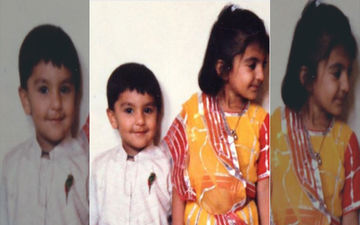 Ranveer Singh Shares A Throwback Childhood Picture To Wish Sister Ritika Bhavnani On The Ocassion Of Rakshabandhan