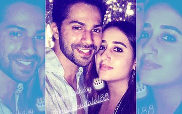 Sonam Kapoor Reception: Varun Dhawan Posts Love-Soaked Pic With Ladylove Natasha Dalal