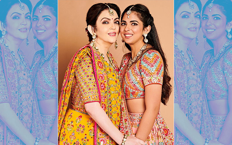 Wedding Celebrations Kick Off: Nita and Isha Ambani In Beautiful Traditional Attires At The Raas Garba Event