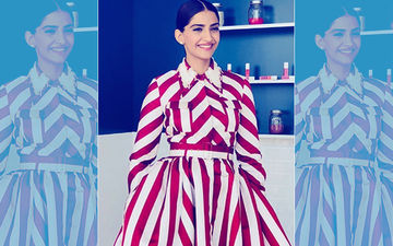 Cannes 2018: Sonam Kapoor's Red & White Outfit Will Make You Yearn For An Early Christmas