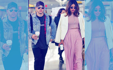 On A Romantic Escapade? Lovebirds Priyanka Chopra & Nick Jonas Leave JFK Airport In A Private Helicopter