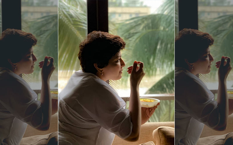 Sonali Bendre Enjoys The Mumbai Weather With Some Kanda Pohe And Tea