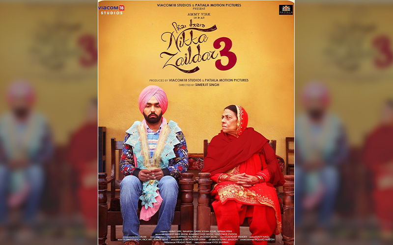 Ammy Virk Starrer 'Nikka Zaildar 3' First Look Poster Is Out Now