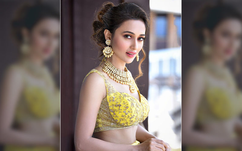 Mimi Chakraborty Looks Fresh As a Daisy Flower in Yellow Lehanga, Shares Throwback Pic on Instagram