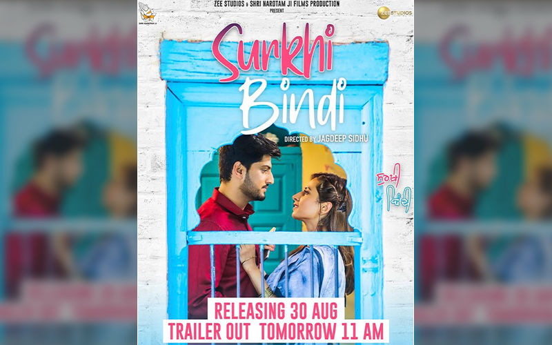 Gurnam Bhullar And Sargun Mehta  Starrer 'Surkhi Bindi' Trailer To Release Tomorrow