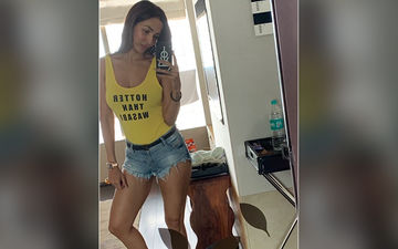 Malaika Arora Nails Her OOTD In A Yellow Tank Top Proving She Is Hotter Than Wasabi