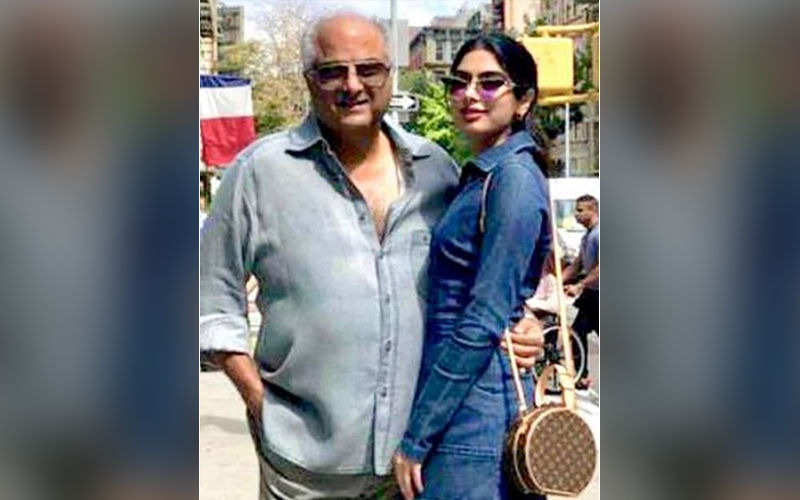 Khushi Kapoor Is In NYC For Further Studies; Steals Time For Some Lovely Pics With Papa Boney Kapoor
