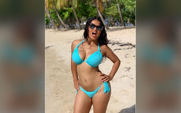 Salma Hayek Shares A Perfect Bikini Picture Soaking In The Joy Of Turning 53