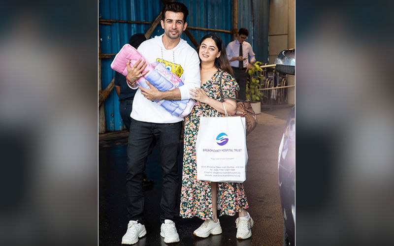 New Daddy Jay Bhanushali Resumes His Shoot The Same Day As Baby Gets Discharged From Hospital