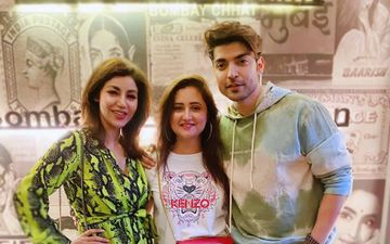 Bigg Boss 13: Rashami Desai Chills With Birthday Boy Gurmeet Choudhary And His Wifey; Post A Happy Pic