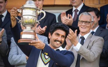 '83: Ranveer Singh Lifts The World Cup Trophy Post The Win; Uncanny Resemblance With Kapil Dev Gets Us Bowled