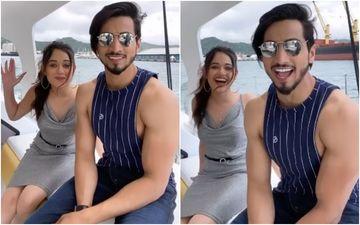 TikTok Star Faisal Shaikh AKA Mr Faisu And Jannat Zubair Enjoy The Ocean Waves In A Fancy Yacht – VIDEO