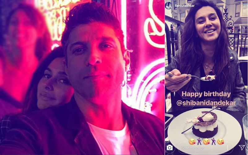 Farhan Akhtar Sends Out Kiss Emoticons To Girlfriend Shibani Dandekar. Are They Going Official?