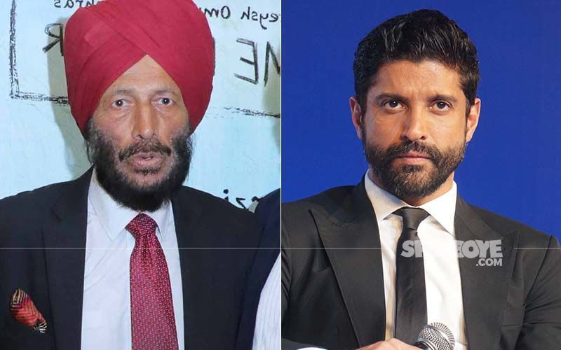 Noida Stadium Puts Farhan Akhtar's Picture From Bhaag Milkha Bhaag On Board To Pay Tribute To Milkha Singh; Twitterati Slam Authorities And Ask To Replace It