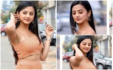 FASHION CULPRIT OF THE DAY: Helly Shah, This Striped Separate Should Never Be Repeated!