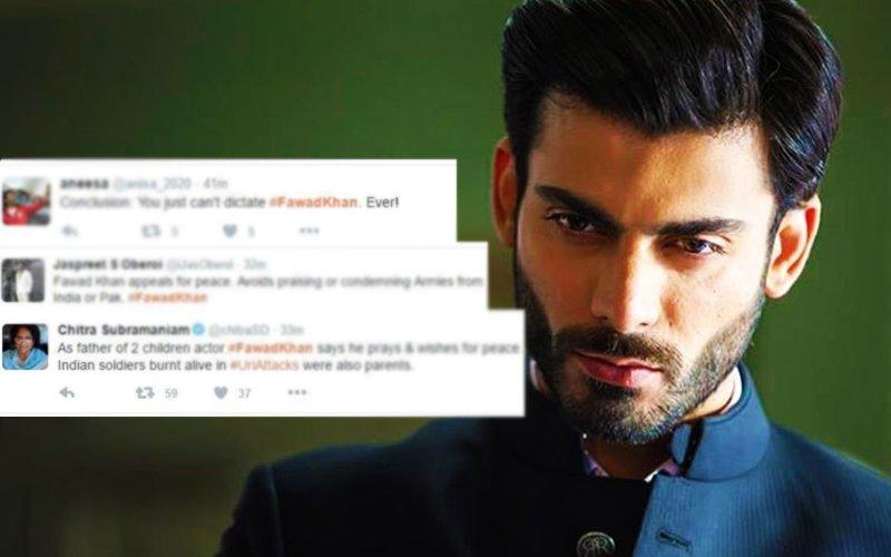 Fawad Khan Trolled on Twitter, called Moron & Coward!