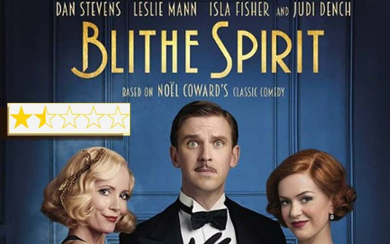 Blithe Spirit Review: Dan Stevens, Leslie Mann, Isla Fisher, Judi Dench Starrer Is A Woefully Poor Adaptation Of  Noel Coward's Play