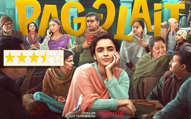 Pagglait Movie Review: Sanya Malhotra Starrer Is An Engaging Meditation On Mortality